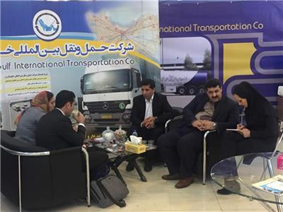 دیدار مدیرعامل از غرفه حمل و نقل بین المللی خلیج فارس
