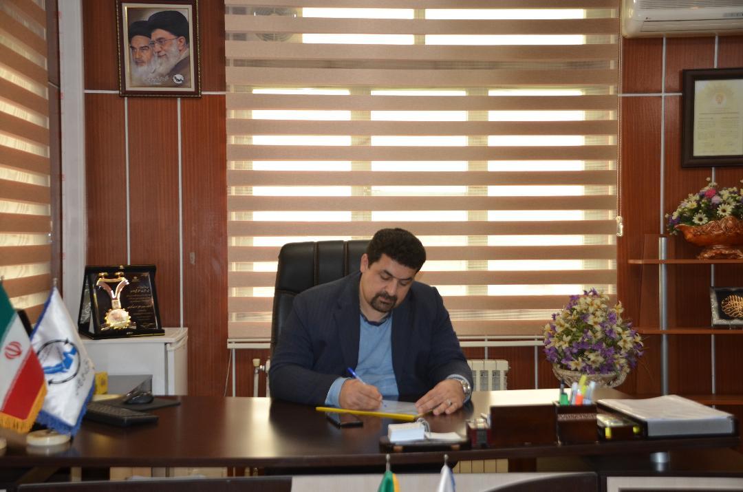 پیام نوروزی مهندس پیمان اسراری عضو هیات مدیره و مدیرعامل شرکت حمل و نقل بین الملی خلیج فارس