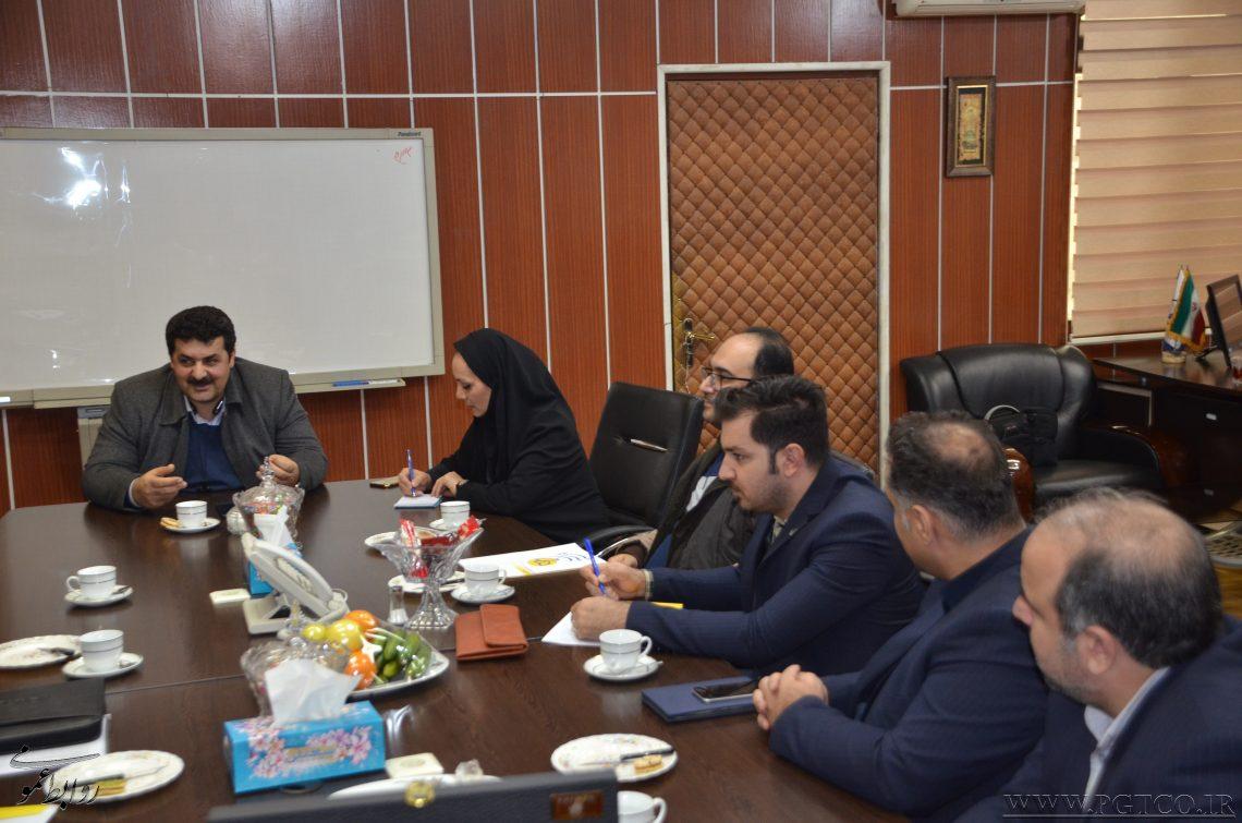 برگزاری جلسه مشترک بین اعضاء هیات مدیره خلیج فارس با مدیران بیمه پارسیان