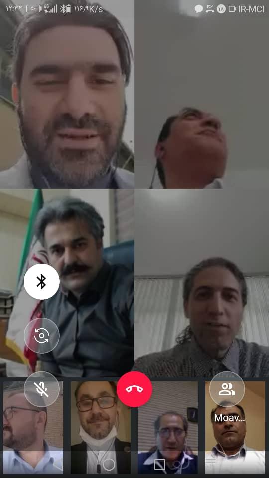 تشکیل اولین جلسه آزمایشی به شکل ارتباط دیجیتالی